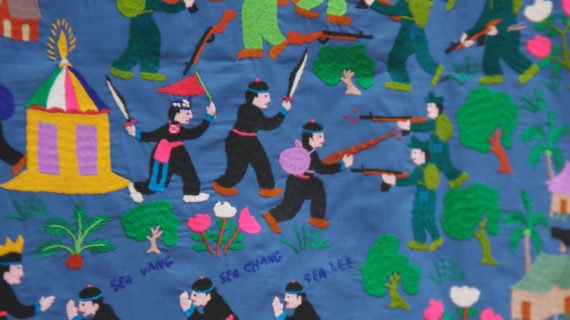 Image of a Hmong tapestry. (Dale Doebert, Jess MacLeod)