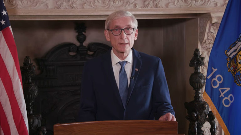 Gov. Tony Evers calls for special session to tackle the April 7 election under the COVID-19 outbreak, April 3, 2020.
